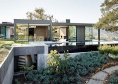 California house by Walker Workshop features a rooftop pool