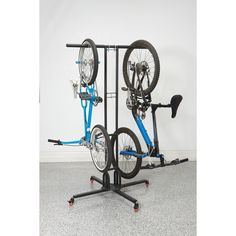 Mobile Bike Storage Rack, Foldable, Store Six Bikes, Powder Coated, 42 in. Wide for sale online Vertical Bike Storage, Bike Storage Rack, Garage Storage, Bicycle Storage Garage, Storing Bikes In Garage, Bike Storage Basement, Garage Organization Bikes, Indoor Bike Storage, Kids Storage