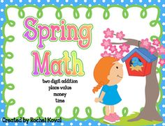 Spring Math Giveaway!! Enter for your chance to win. Spring Math Centers  (59 pages) from Rochel Koval on TeachersNotebook.com (Ends on on 06-30-2015) Enter to win four fun hands-on math centers!.