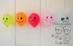 Educando las emociones: Jugamos con los globos expresivos. » Actividades infantil
