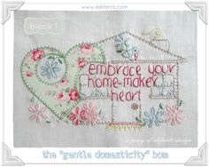 Looking for your next project? You're going to love Gentle Domesticity BOM - block 1 by designer Elefantz.