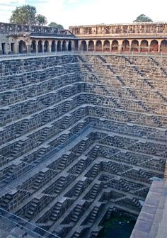 Deepest stepwell in the world, India...