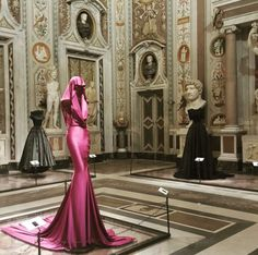 Azzedine Alaia in the History of Fashion at the Galleria Borghese in Rome