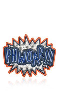 Metallic capra phwoar!!! sticker by ANYA HINDMARCH for Preorder on Moda Operandi