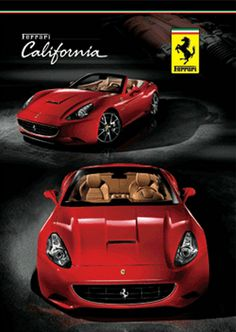 This Ferrari California will make your heart ache with love! Stunning! #CarPorn #spon #Ferrari http://www.ebay.com/itm/FERRARI-DREAM-SUPER-CAR-3D-MOVING-POSTER-NEW-/180501219028?pt=UK_Sports_Memorabilia_ET&hash=item2a06b606d4?roken2=ta.p3hwzkq71.bsports-cars-we-love