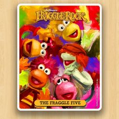 Fraggle Rock Collections - The Fraggle Five Art