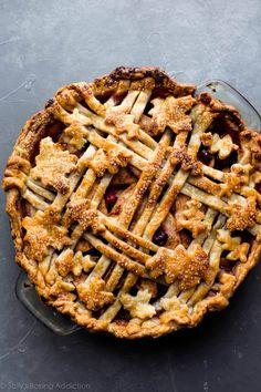 Cranberry Almond Apple Pie | Sally's Baking Addiction | Bloglovin'