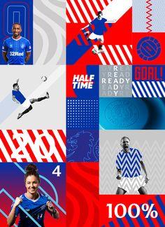 Rangers F.C. Brand Evolution | See Saw Creative | Graphic + Digital Design