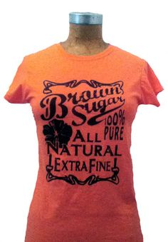 Brown Sugar Available in S M L XL and 2XL by SOULARPOWERED