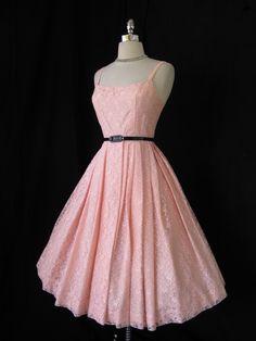 vintage cotton summer dress