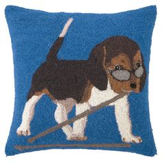 Drummer Beagle Pillow from the Reigning Cats & Dogs event at Joss and Main!