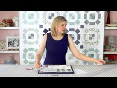 How to Use It's Sew Emma Alphabitties for Labeling Fabrics - Fat Quarter Shop - YouTube