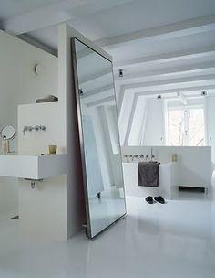 Large mirror for hallway