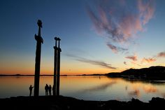 Sverd i Fjell Stavanger Norway, Earth, Celestial, Explore, Sunset, Nature, Landscapes, Outdoor, Sunsets
