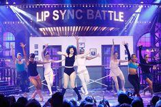 "Watch Sasha and Maggie Dance-Fight on Lip Sync Battle ""Maggie"" Lauren Cohan!"