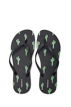 913456a56 Cactus Print Flip Flops Cactus Hat