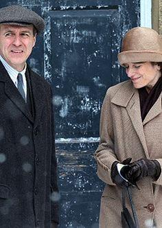 Downton Abbey Season 5 Molesley and Baxter
