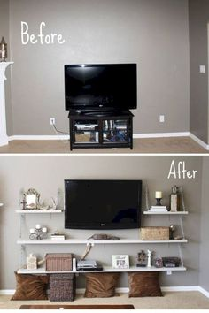 15 Clever Ideas To Decorate Your Small Living Room 10