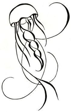Jelly fish tattoo