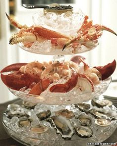 "See the ""Fruits de Mer Platter"" in our Elegant Appetizer Recipes ..."