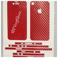 Features:  -100% brand new -For your iPhone 4-4s -Covers front + back + edges -The adhesive is strong but easy to remove if required without leaving any residue. -Comfortable to hold as well as protects your iPhone from scratches -Material: Carbon Fiber Vinyl -Compatible With iPhone 4-4s ...