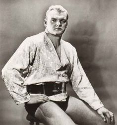 """Johnny Valentine, my Uncle Dangerous Danny McShain aka McShane battled tough Johnny Valentine many times """"back in the day."""" (D.D.)"""
