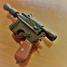Mercenary Garage    #HouseOfDaCosta #StarWars #HanSolo #HanSoloBlaster #HanSoloDL44 #Cosplay #Mercenary #MercenaryGarage