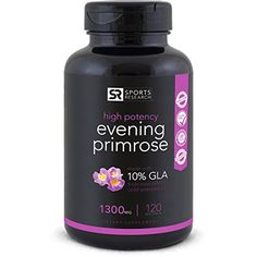 Evening Primrose Oil 120 Liquid Softgels ~ Cold-Pressed with No fillers or Artificial Ingredients ~ Non-GMO & Gluten Free. Great natural remedy for PMS, PCOS, menopause and Fertility problems Evening Primrose Oil Benefits, Primrose Plant, Cold Pressed Oil, Essential Oils For Skin, Night Sweats, Hormone Balancing, Top 5, Herbalism, The Cure