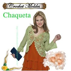 Delicadezas en crochet Gabriela: Chaqueta
