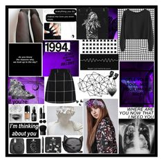 Lisa - Ep 2 by prettygirlyszl on Polyvore featuring polyvore fashion style H&M Topshop Accessorize Dollydagger Marc Jacobs NARS Cosmetics WALL Fujifilm xO Design clothing