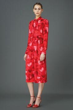 Valentino Pre-Fall 2015 - Collection - Gallery - Style.com Heart dress heart heals heart beats faster