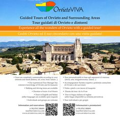 We now offer custom guided tours of Orvieto!