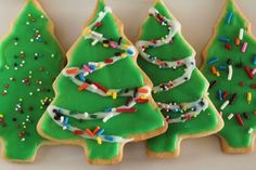 This recipe was passed down through the generations from my Great Grandmother.  It has been a tradition in our family to make them every Christmas and it becomes an all-day event where we make cookies all morning and decorate them all afternoon.  The recipe is pretty simple and the most time-consuming part of the process is decorating, especially when youre in my family and it becomes an artistic competition!