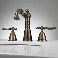 Antique Brass faucets