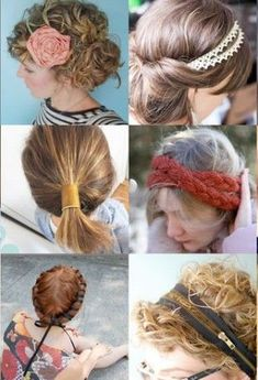 DIY: 15 Chic and Creative Hair Accessories to Make - theFashionSpot - YES!!