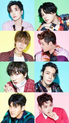 Check out Super Junior @ Iomoio Super Junior Kpop, Super Junior Songs, Super Junior Leeteuk, Eunhyuk, Kim Ryeowook, Choi Siwon, Lee Donghae, Super Junior Profile, K Pop