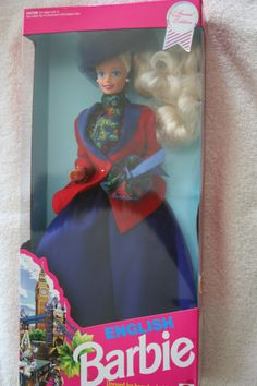 """Mattel """"English Barbie"""" Dolls of the World Collection  #4973 Special Edition"""