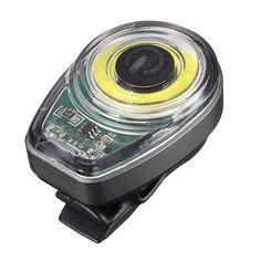 OUTERDO COB LED 15 Chips MTB Light Smart Bicycle Tail Light USB Charging 6 Modes Bike Warning LED Rear Back Cycling Lantern