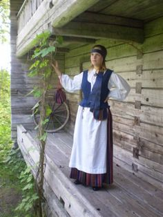 Rovaniemi; Lappi, Finland Folk Costume, Costumes, Traditional Clothes, The Shining, Finland, Spring, Coat, Vintage, Beauty