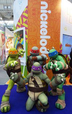 Donnie, Leo, Mikey & Raph from #TeenageMutantNinjaTurtles #Nickelodeon