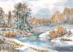 Татьяна Домбровская Этюд: акварель, 2014 http://www.arts-e.ru/ekspressiya/417-scan-141210-0002