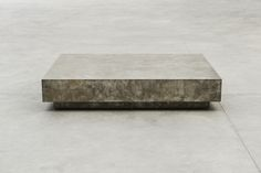 Joseph Dirand Silver Coffee Table, 2015 copper old silver patina Silver Coffee Table, Coffe Table, Joseph Dirand, Sterling Ruby, Concrete Coffee Table, Low Tables, Furniture Inspiration, Industrial Furniture, Table Furniture