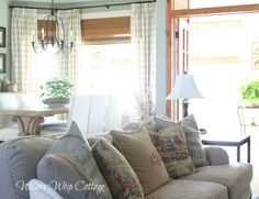 Rustic Country Sitting Room