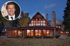 A espetacular mansão de inverno de Tom Cruise em Telluride, no Colorado, foi colocada à venda pelo ator. A propriedade de 3 mil metros quadrados já recebeu vários prêmios de arquitetura, e chegou a ser destaque no programa de Oprah Winfrey há alguns anos.