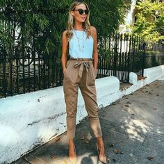 High waist harem pants casual pants Trousers More