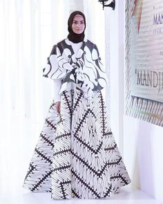 Gamis Batik Pesta Modern Batik Fashion Batik Dress Dress Batik
