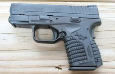 The Springfield XDS .45-caliber subcompact pistol.