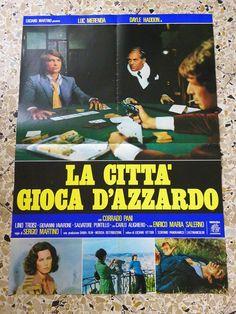 W Soggettone Originale LA Citta' Gioca D'Azzardo Sergio Martino LUC Merenda | eBay
