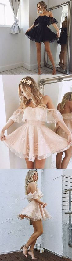 Pink Homecoming Dresses,Skin Pink Homecoming Dresses,Short Homecoming Dresses.Lace Homecoming Dresses,Off the Shoulder Homecoming Dresses,Short Prom Dresses,Cheap Homecoming Dresses,Blush Pink Prom Dresses,Prom Dresses,Party Dresses,Cocktail Dresses,Graduation Dresses,Mini Length Homecoming Dress,Homecoming Dresses 2017