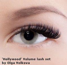 Hollywood lashes by Olga Volkova